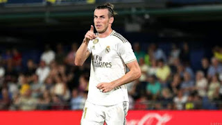 Video: Bale Scores Brace and Sees Red in Real Madrid Draw.