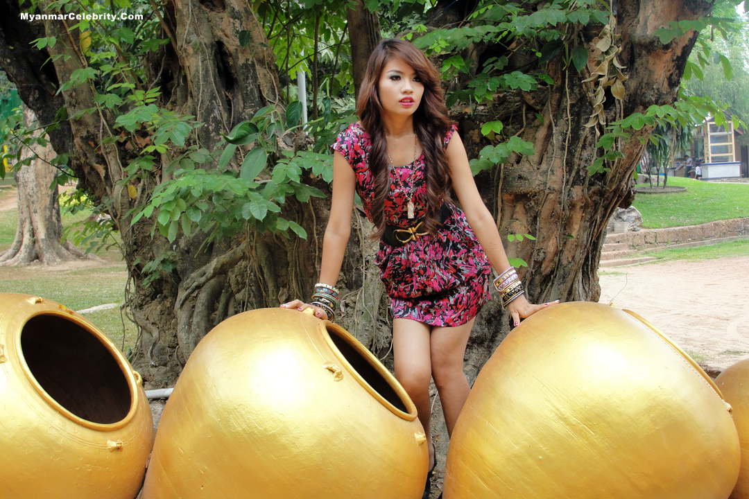 Photo Model Myanmar New Face Model Girl, Babe Maung-6842