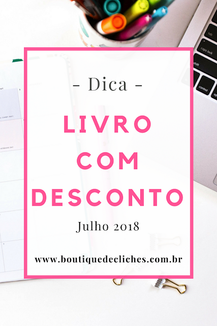 Livros com Desconto em Julho de 2018