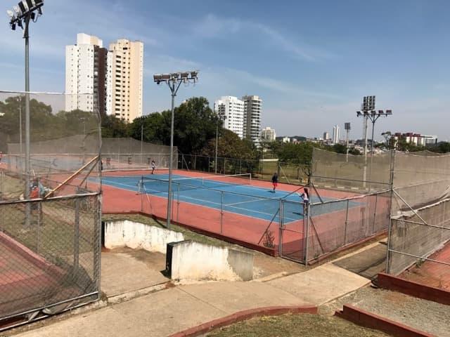 Parque CERET - Quadras de tênis