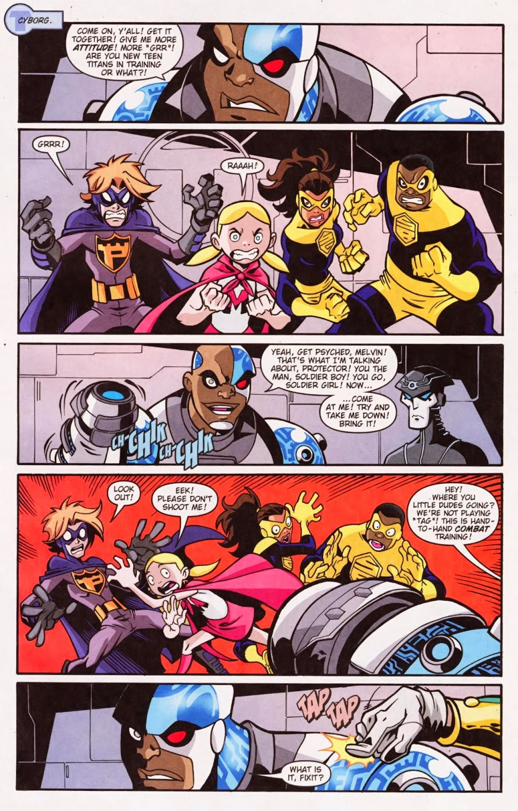 Teen Titans Go Issue 2