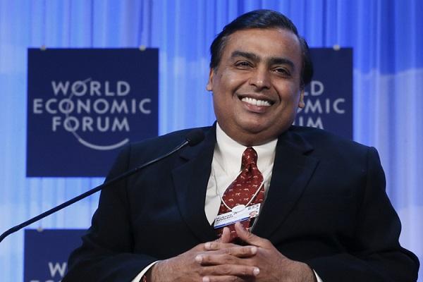 Mukesh Ambani, the chairman of Reliance Industries