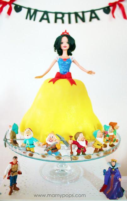 Decoración de cumpleaños Blancanieves - Snow White Party - Decoração Branca de Neve