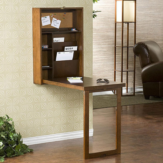 M nica dise os c mo armar un escritorio peque o en casa - Escritorios para espacios reducidos ...