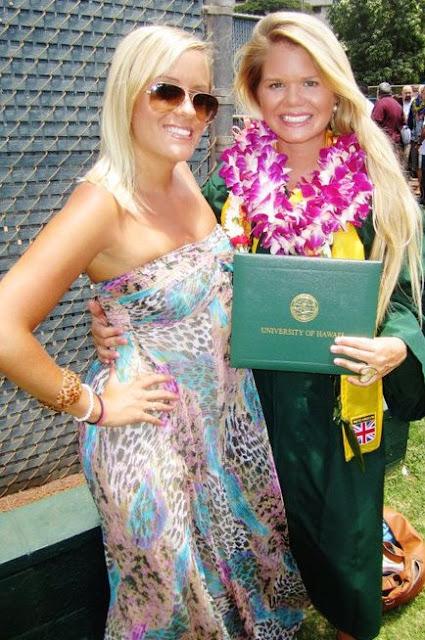 Whitney graduating from University of Hawaii