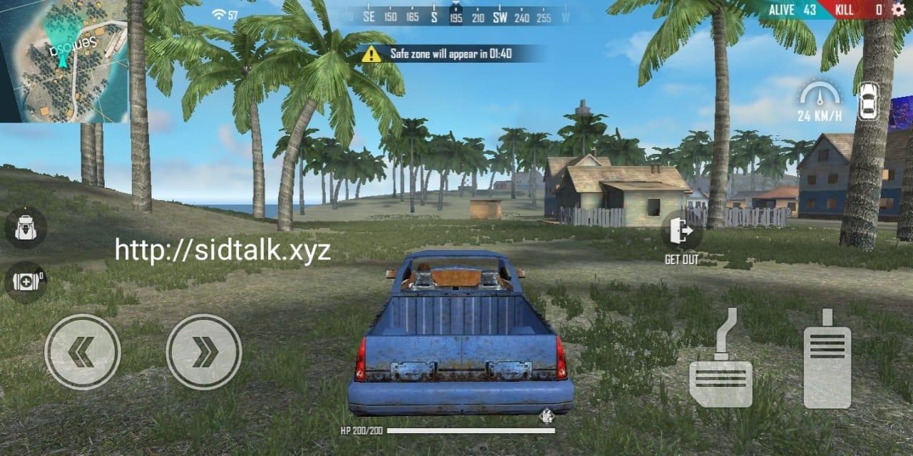 freefire Vehicles