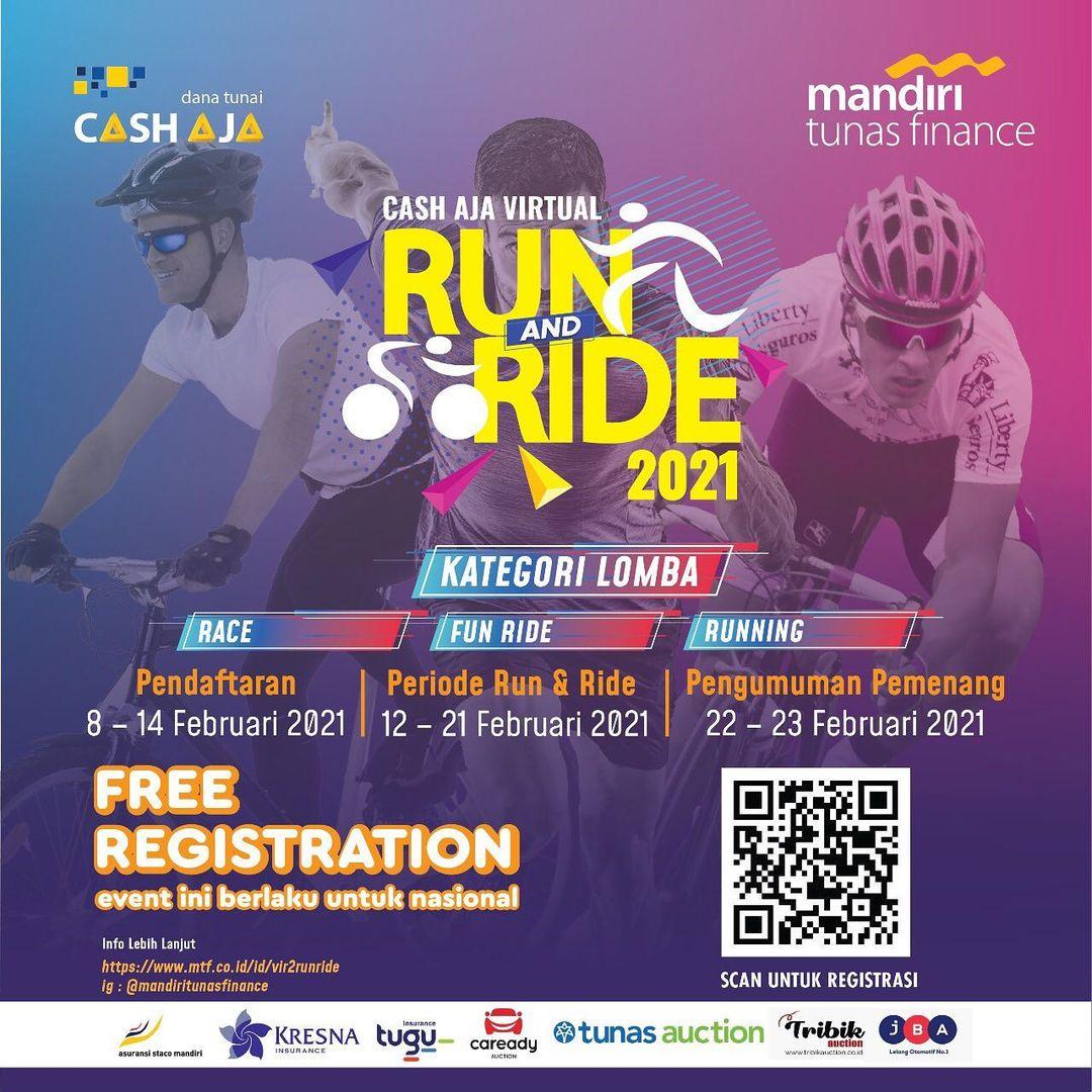 Cash Aja Virtual Run and Ride • 2021
