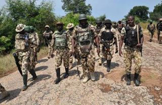 Nigerian troops rescue nine kidnapped persons on Kaduna-Abuja road