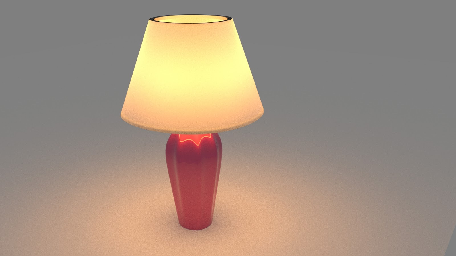 Free 3D Classic Night Lamp .blend file