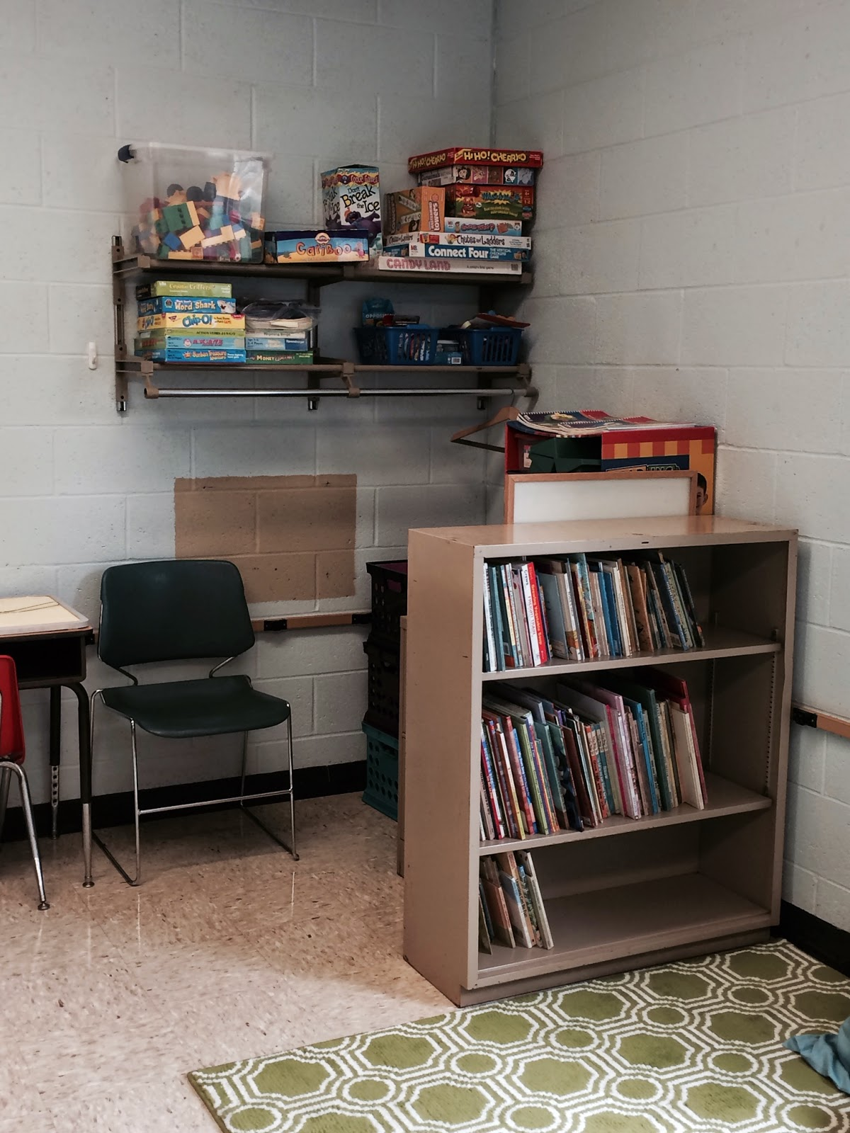 Room With Nothing In It: There's Nothing Quite Like....Home Sweet Speech Room