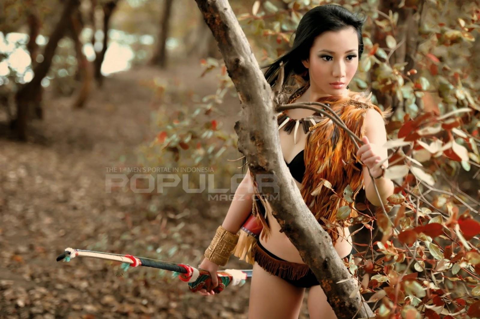 Foto Cantik Ade Sagita Halim Hot