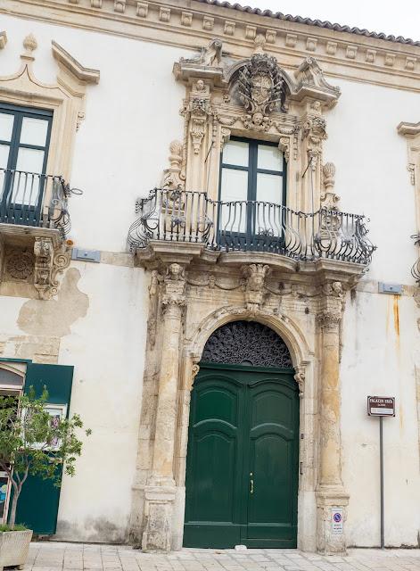Scicli, centro storico - Palazzo Fava ©Valeriaderiso