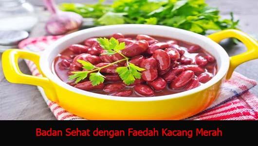 Badan Sehat dengan Faedah Kacang Merah