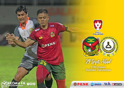 Live Streaming Kedah vs PKNP (Piala Malaysia) 29.9.2019