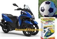Logo Attacca con Tesa e vinci 615 palloni, kit di prodotti e 1 Yamaha Tricity155cc