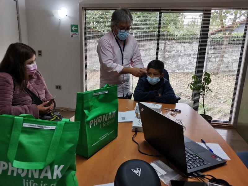 Atenciones de servicios médicos a estudiantes