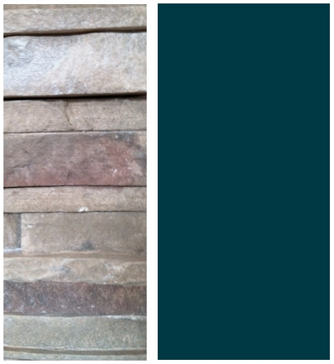 How To Choose Wall Color When You Have Pink In Your Fireplace Stone