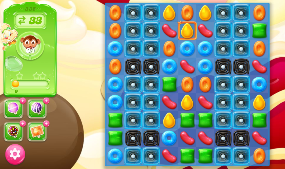 Candy Crush Jelly Saga saga 335