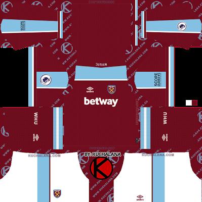 West Ham United 2021/2022 Kit - DLS2019