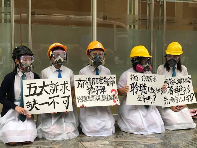 Lá thư của một học sinh Hồng Kong: Bình minh không từ trên trời rơi xuống
