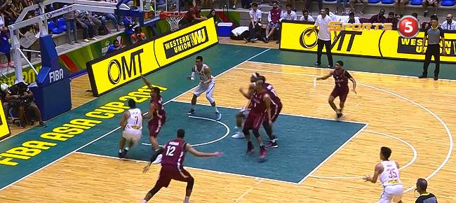 Jayson Castro Finds Raymond Almazan for the SLAM vs Qatar! (VIDEO)