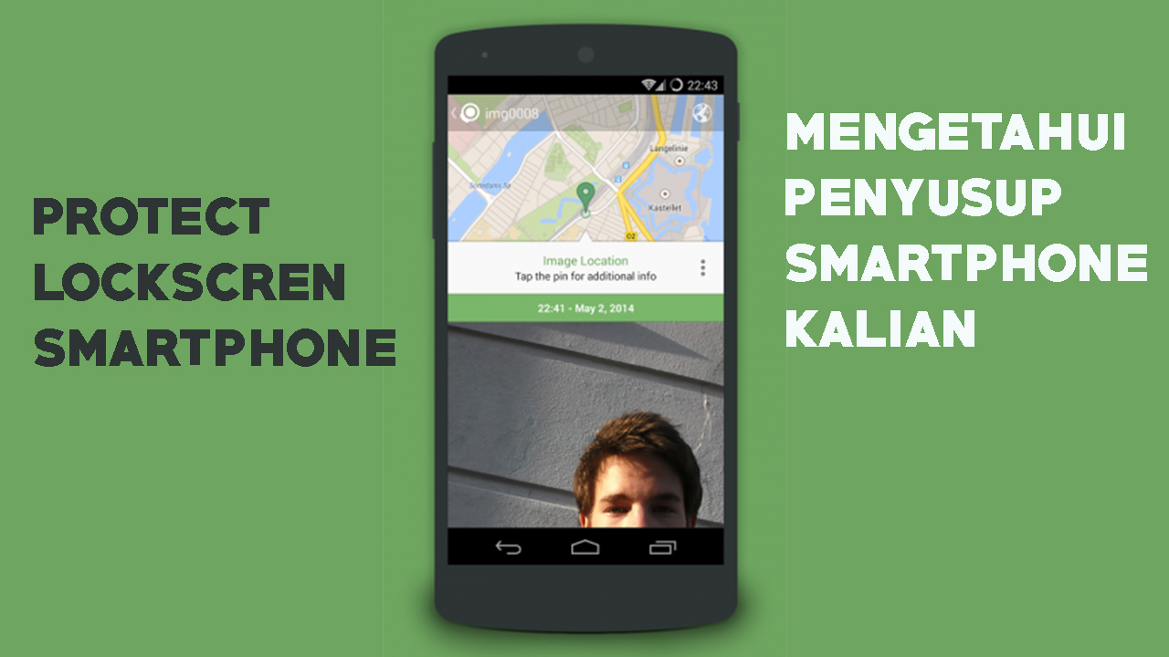 Keamanan Ponsel Mengunakan Aplikasi Crookcather Android