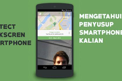 Keamanan Ponsel Menggunakan Aplikasi Crookcather Android