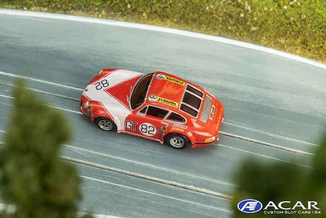 Slotcar Porsche 911S Kremer Racing 1.000km Nürburgring 1971