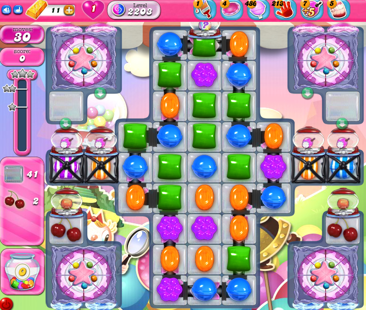 Candy Crush Saga level 2203