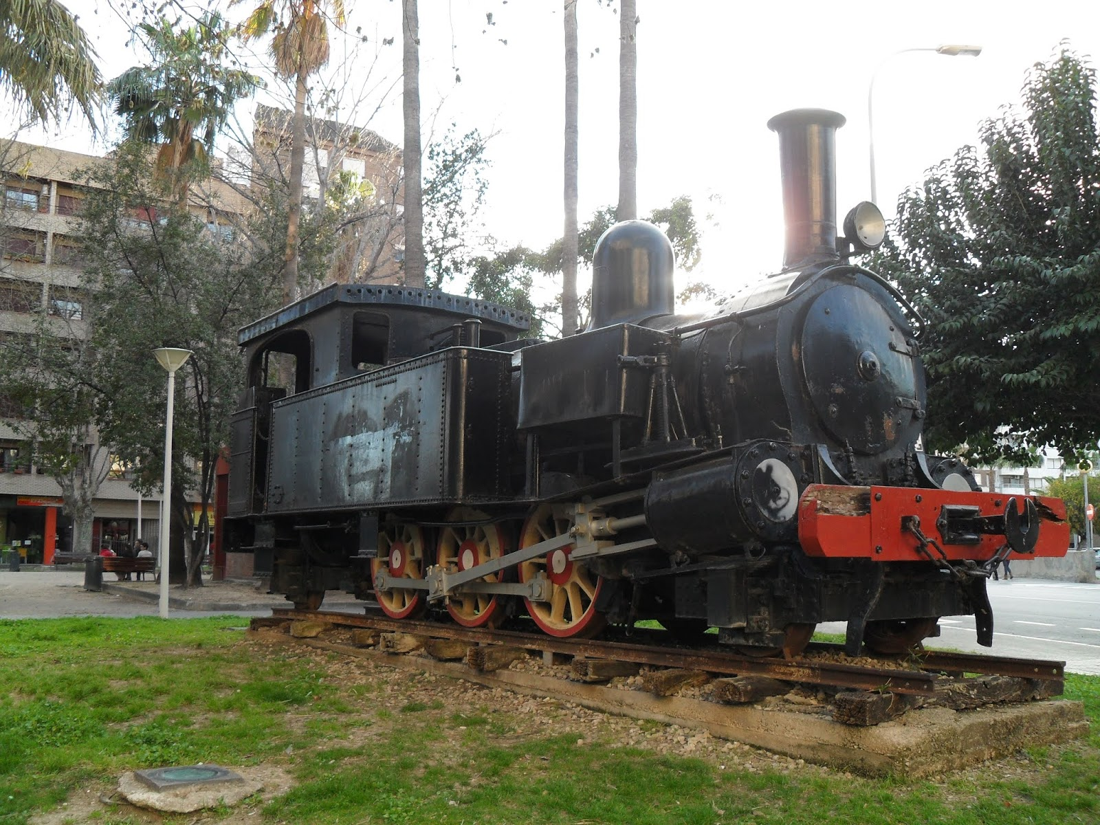 Steam train from Alcoy - Gandia rail way