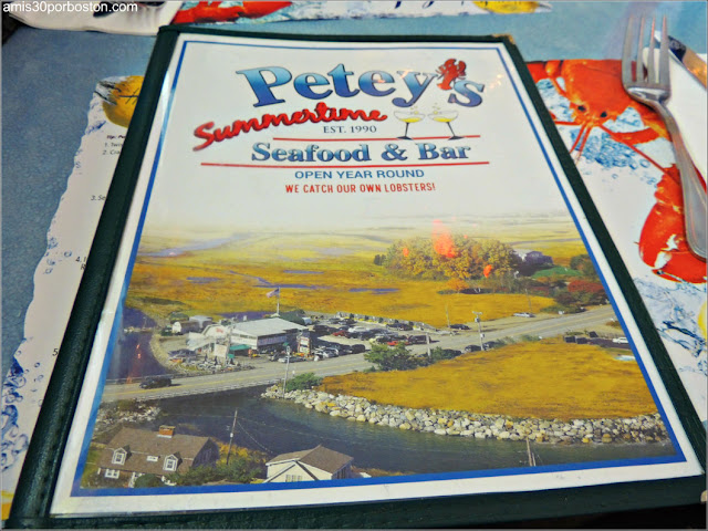 Carta del Petey's Summertime Seafood and Bar en New Hampshire