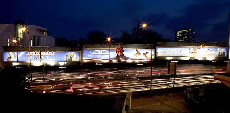 Star Wars Episode I billboards London