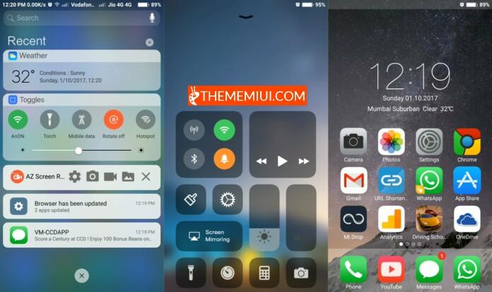 Pure iOS 11