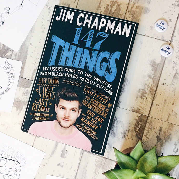 Front cover of 147 Things by Jim Chapman (YouTuber)
