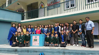 Mission Education Gangtok team placed a Drop Box at Greendale School