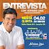 Prefeito Adriano Lima concede entrevista à Rádio Cidade AM de Juazeiro