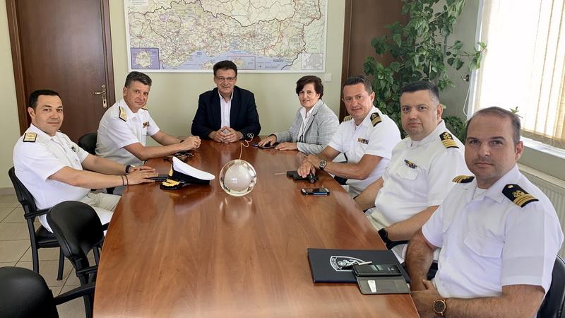 Στην Αλεξανδρούπολη η Γενική Γραμματέας Αιγαίου και Νησιωτικής Πολιτικής και ο Αρχηγός του Λιμενικού Σώματος
