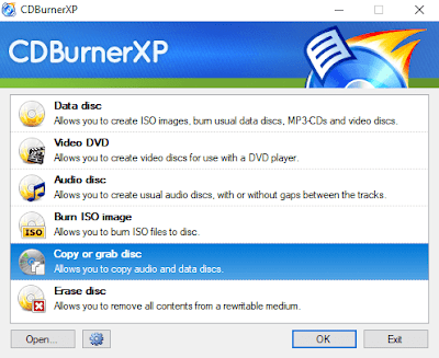 Copy of grab disc - CDBurnerXP