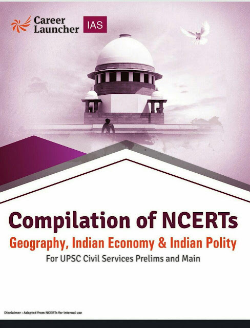 Geography, Indian Economy and Indian Polity (NCERT Compilation) : For UPSC Exam PDF Book