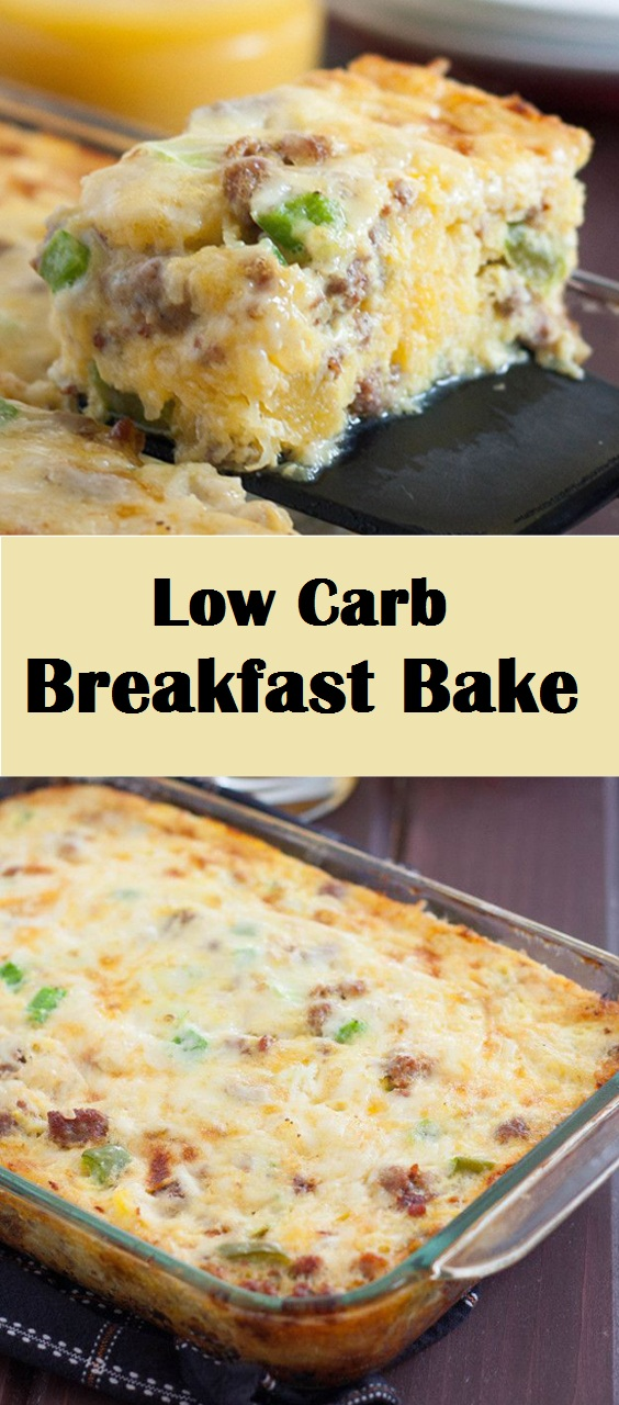 Low Carb Breakfast Bake