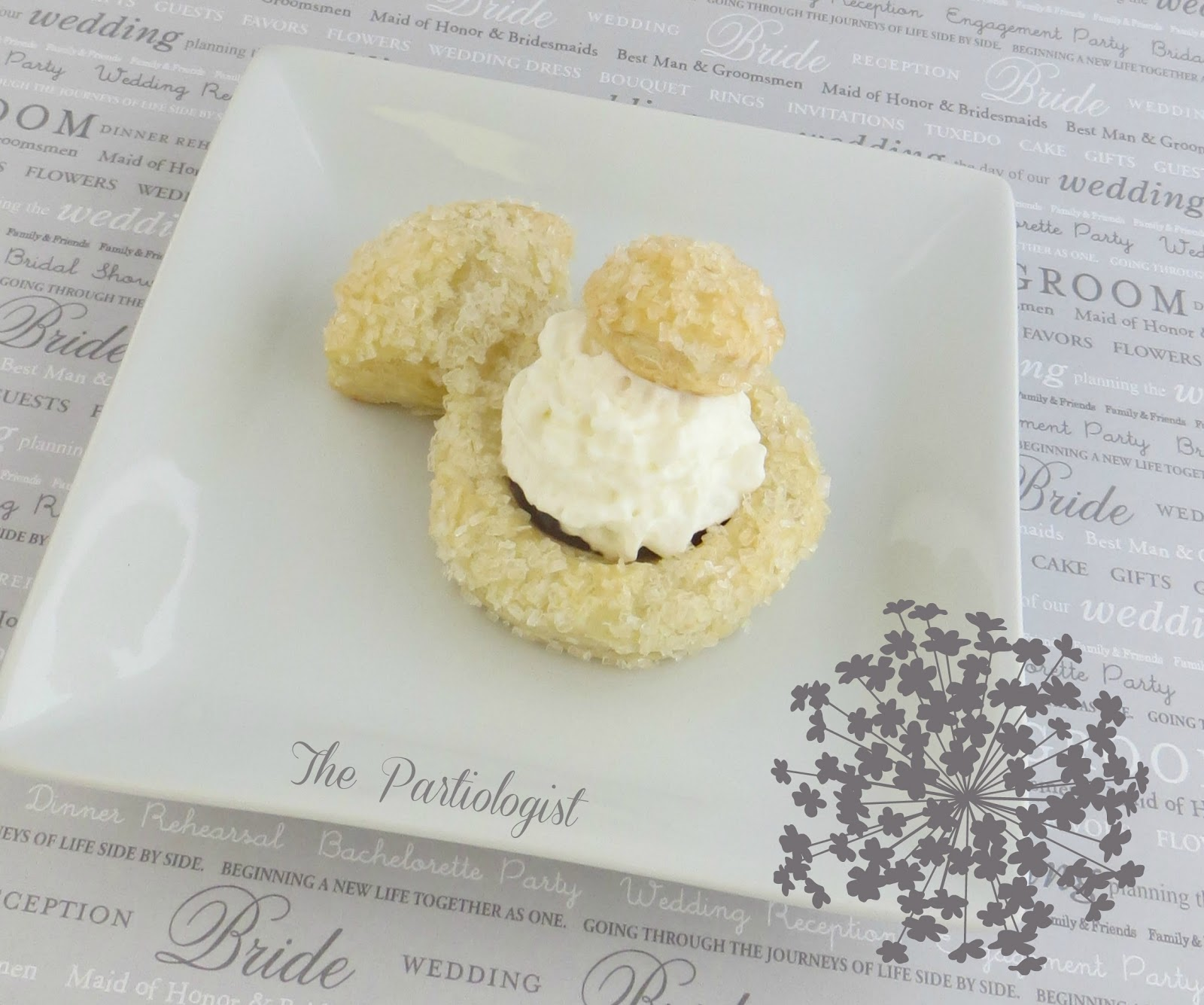 The Partiologist: Puff Pastry Diamond Rings