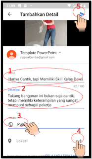 Cara Upload Video ke YouTube dari Handphone