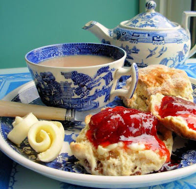 Queen Victoria, The Women's Institute, A Famous English Sponge Cake and Afternoon Tea.....