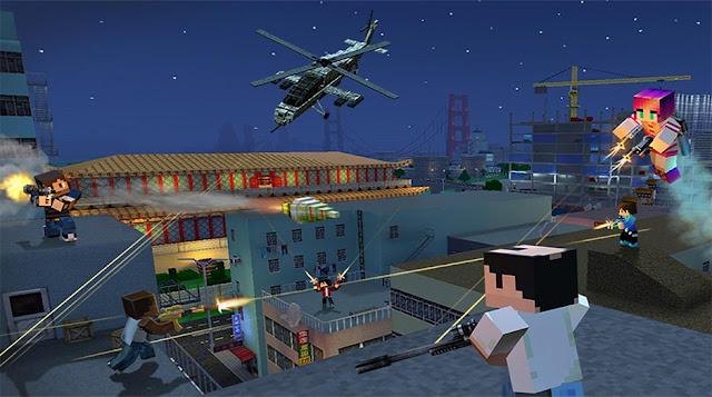 Block City Wars v5.1.1 Apk + Datos SD Mod [Dinero]