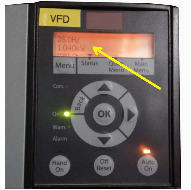 VFD or Variable Frequency Drive