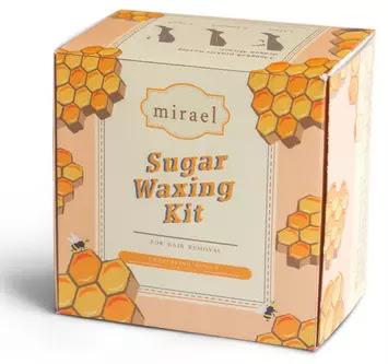Mirael Honey Sugar Waxing Kit