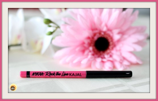 Nykaa Rock The Line Kajal Jet Black 001 Review on Natural Beauty And Makeup Blog