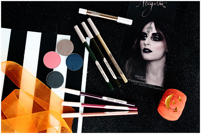 neogothic collection neve cosmetics comparazioni