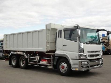 mitsubishi dump truk fuso super great terbaru