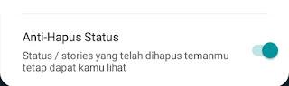 Anti hapus status